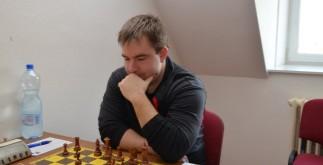 FM Jan Balín - jednička FIDE OPENu